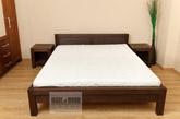 łóżko brzozowe